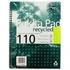 Pukka Quality Recycled A4 Pad 80g 100pp (Pack of 3)